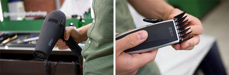 Фен Sinbo SHD 7044 и машинка для стрижки волос Sinbo SHC 4353