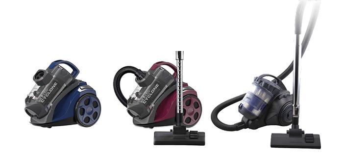 Sinbo представляет новые мультициклонные пылесосы серии SVC